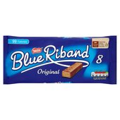 Blue Riband Milk Chocolate Biscuit Bars 8 Pack