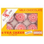 Tunnock's Milk Chocolate Tea Cakes 6's