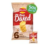 Walkers Ready Salted Flavour Baked Crisps Multipack