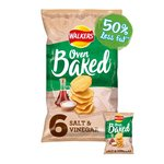 Walkers Salt & Vinegar Flavour Baked Crisps Multipack