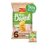 Walkers Baked Sour Cream & Chive Snacks