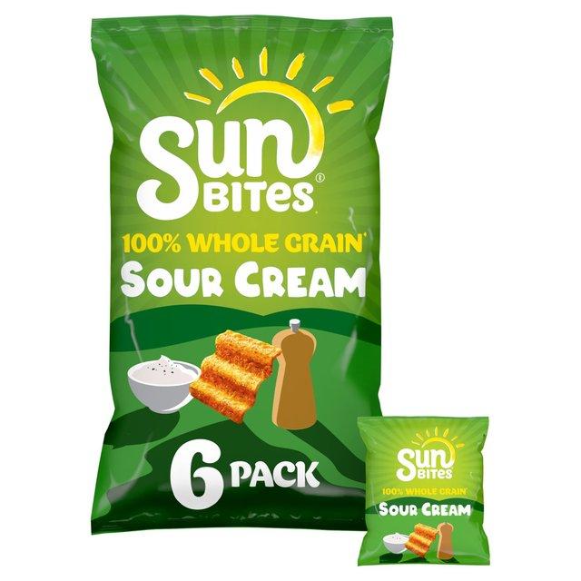 Sunbites Sour Cream Multipack Snacks