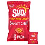Walkers Sunbites Sweet Chilli Multigrain Snacks 6x25g