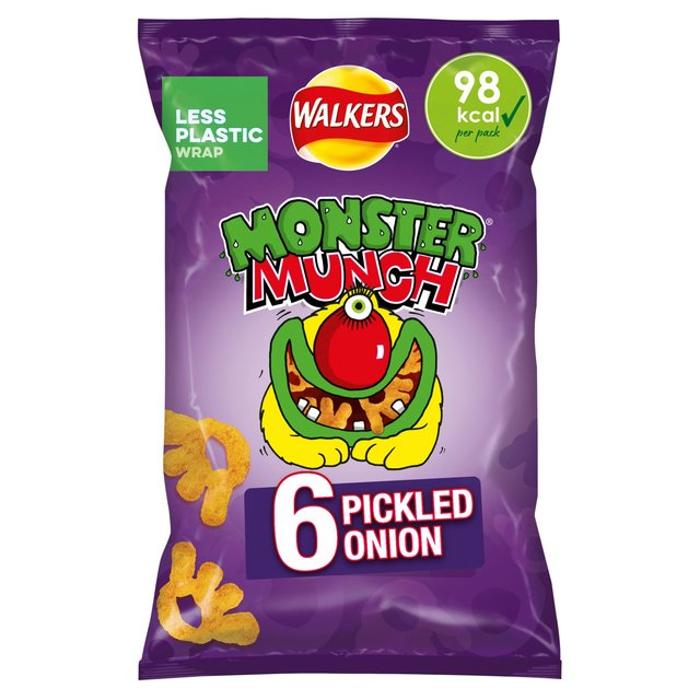 Mega Monster Munch Pickled Onion Snacks
