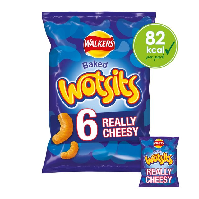 Walkers Wotsits Really Cheesy Multipack Snacks