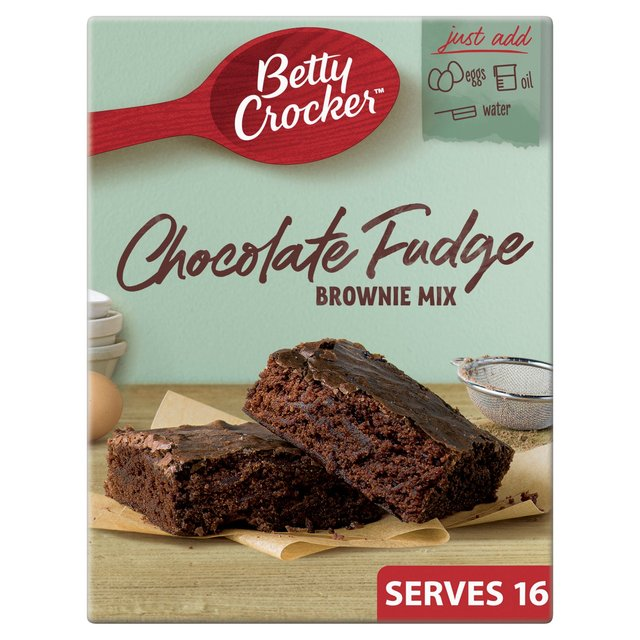 Betty Crocker Fudge Cake Mix