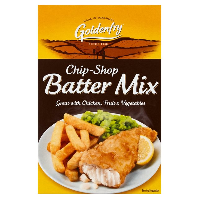 how to make chip shop batter mix
