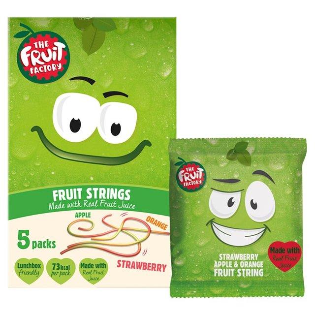The Fruit Factory Strawberry, Apple & Orange Fruit Strings