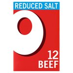 Oxo Reduced Salt Beef Stock 12 Cubes