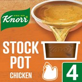 Knorr Chicken Stock Pot 4 Pack