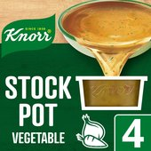 Knorr Vegetable Stock Pot 4 Pack