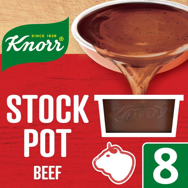 Morrisons: Knorr Beef Stock Pot 8 Pack 8 x 28g(Product Information)
