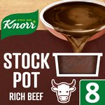 Knorr Rich Beef Stock Pot 8 Pack