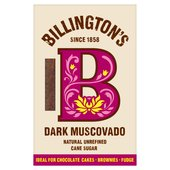 Billington's Dark Muscovado Natural Unrefined Cane Sugar