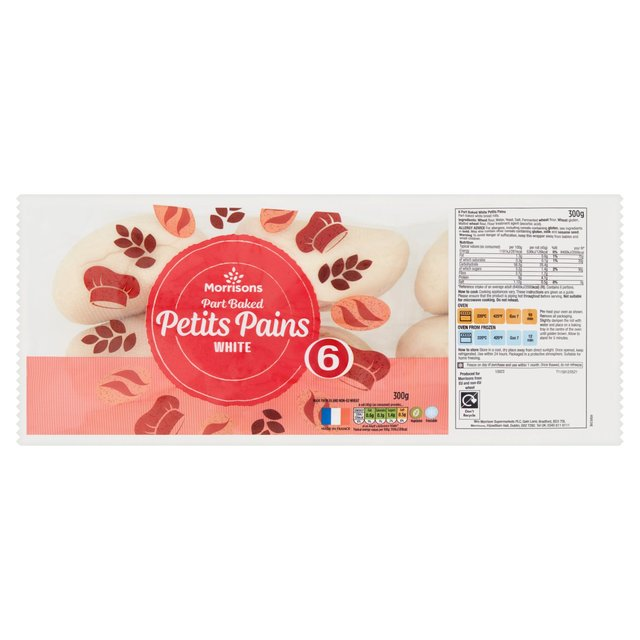 Morrisons Bake at Home Petit Pains