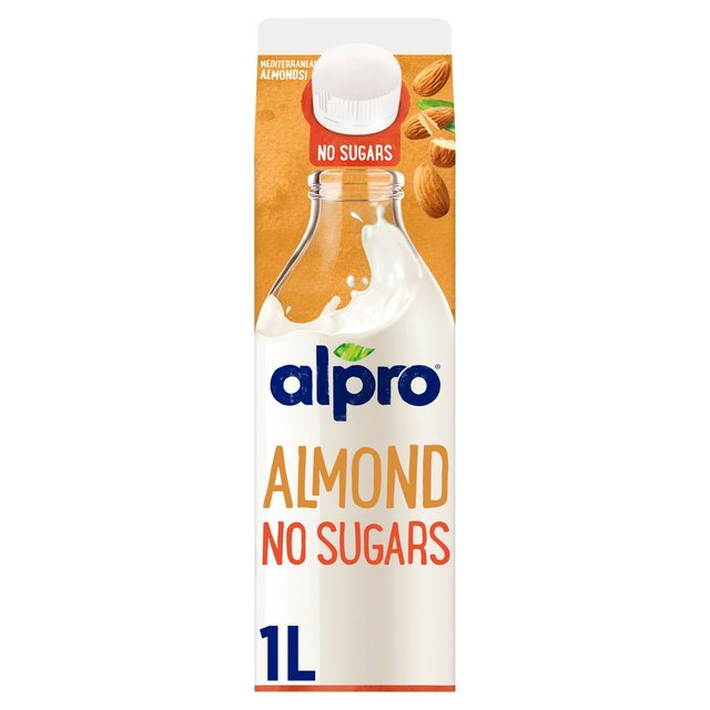 Alpro Fresh Almond Unsweetened Milk Alternative