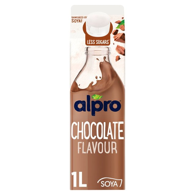 Morrisons Alpro Fresh Soya Chocolate 1lproduct Information