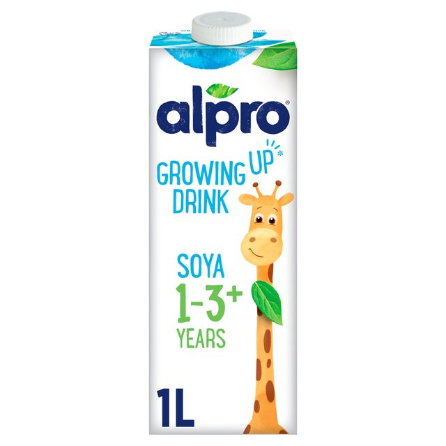 Alpro Long Life Growing Up Soya Drink 1+3