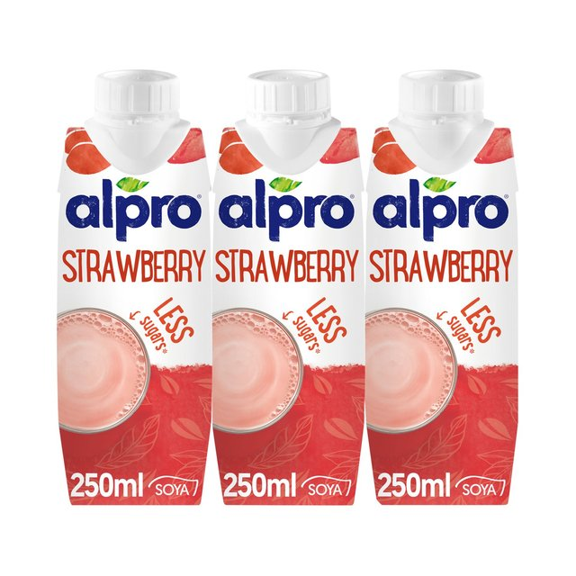 Alpro Long Life Soya Strawberry Milk Alternative