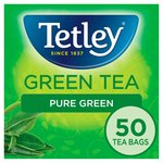 Tetley Pure Green Tea Bags 50s