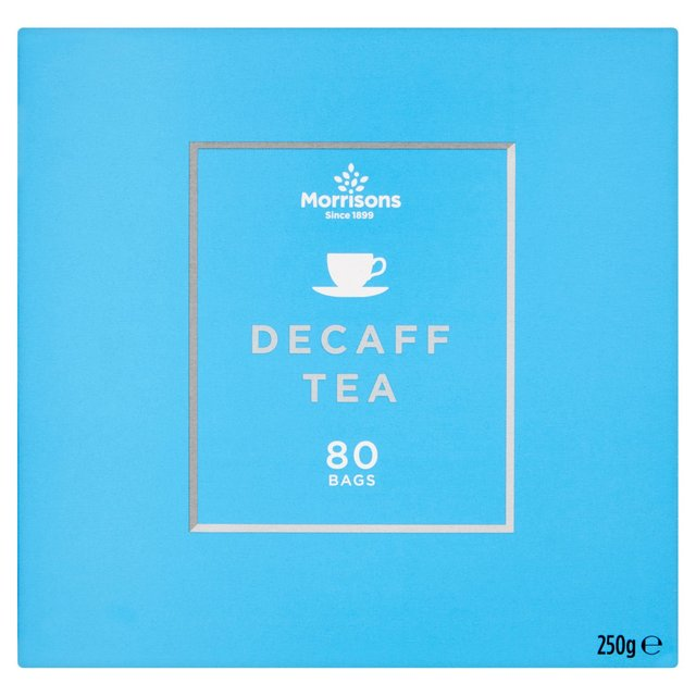 Morrisons Decaffeinated Tea Bags 80's