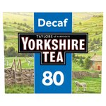 Yorkshire Decaffeinated Tea Bags 80s