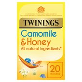 Twinings Soothing Camomile & Honey Tea Bags 20s