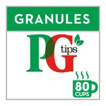 PG Tips Pure Tea Granules 80 Cups