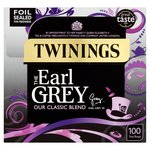 Twinings Earl Grey Tea Bags 100s