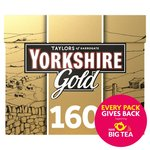 Yorkshire Gold Tea Bags 160 Pack