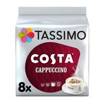 Tassimo Costa Cappuccino Coffee Pods 8's