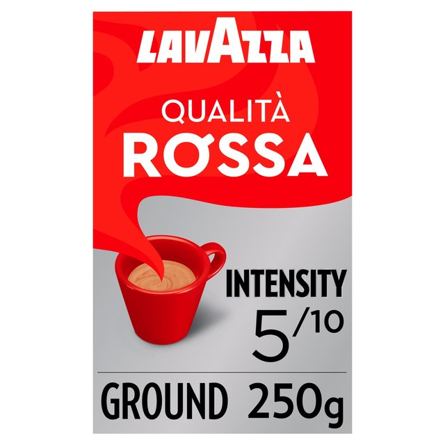 Morrisons Lavazza Qualità Rossa Ground Coffee 250gproduct