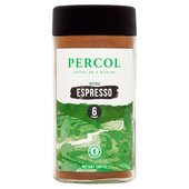 Percol Black & Beyond Espresso Instant Coffee 6s