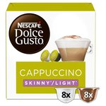 Nescafe Dolce Gusto Skinny Cappuccino Coffee Pods 8s