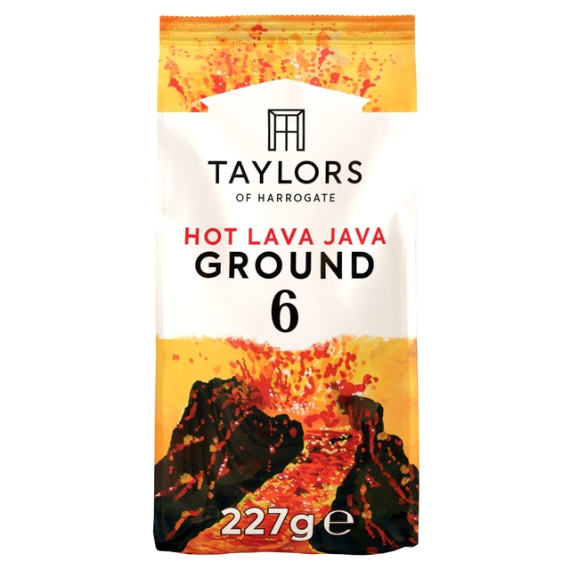 Taylors of Harrogate Hot Lava Java Ground Coffee