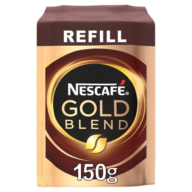 Morrisons Nescafe Gold Blend Instant Coffee Refill 150g