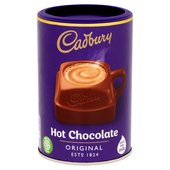 Cadbury Drinking Chocolate Hot Chocolate Tub