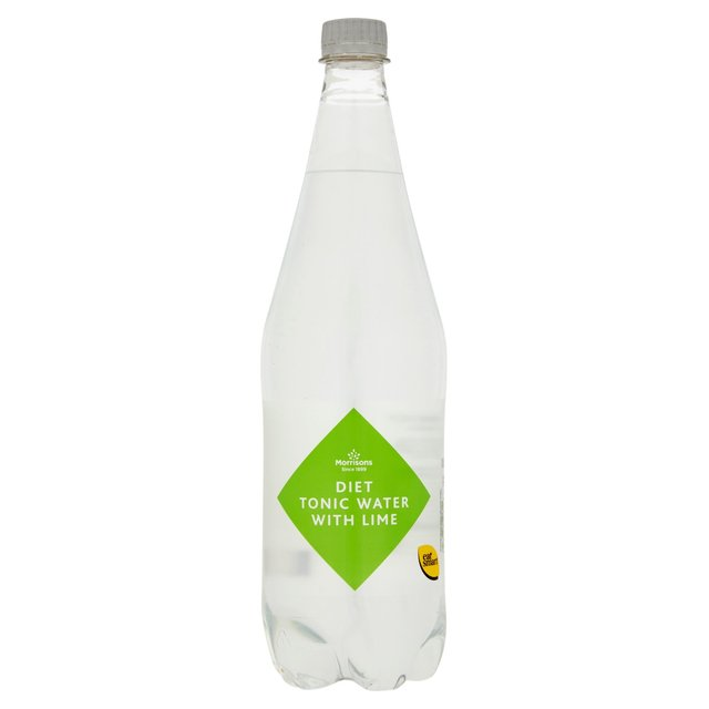 Morrisons Diet Tonic Water with a Hint of Lime