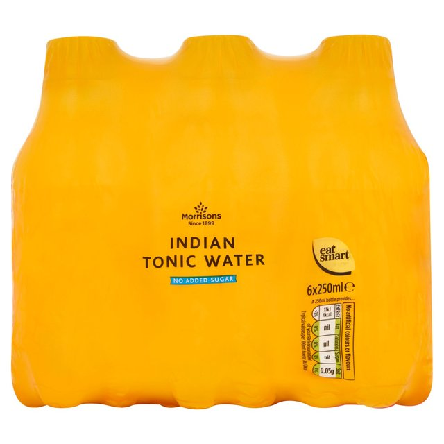 Morrisons No Added Sugar Indian Tonic Water