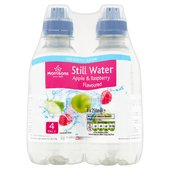 Morrisons No Added Sugar Apple & Raspberry Flavoured Still Water