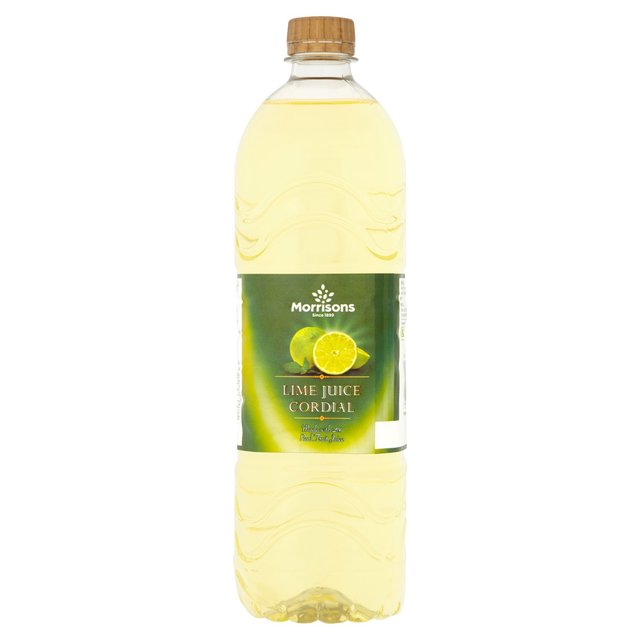 Morrisons: Morrisons Lime Cordial 1L(Product Information)