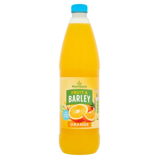 Morrisons No Added Sugar Orange Fruit & Barley