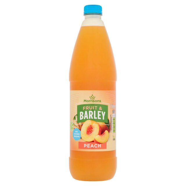Morrisons No Added Sugar Peach Fruit & Barley