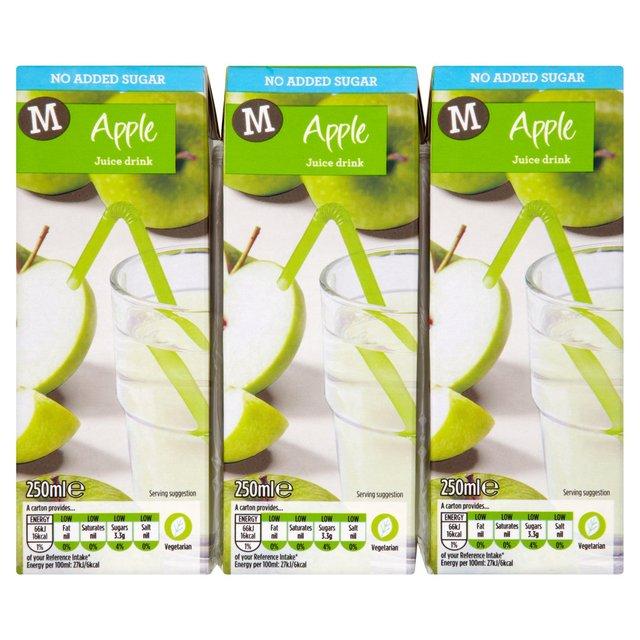 Apple Juice no Sugar Added Morrisons no Added Sugar Apple