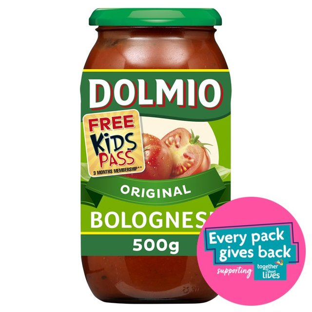 morrisons dolmio bolognese original pasta sauce 500g product information. Black Bedroom Furniture Sets. Home Design Ideas