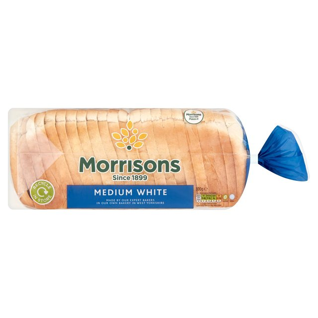 Morrisons Medium White Loaf