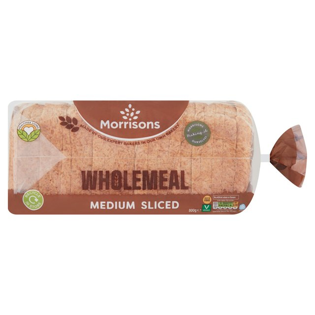 Morrisons Wholemeal Medium Loaf