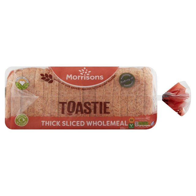 Morrisons Wholemeal Toastie Loaf