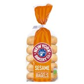 New York Bakery Co. Sesame Bagel