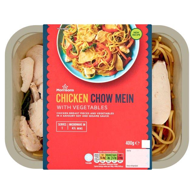 Morrisons Oriental Chicken Chow Mein